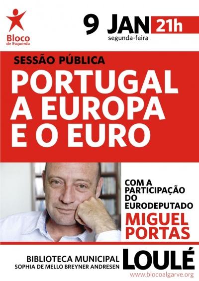 Miguel Portas em Loulé
